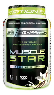 Star Nutrition Musclestar 1000 G Post Workout Entrenamiento