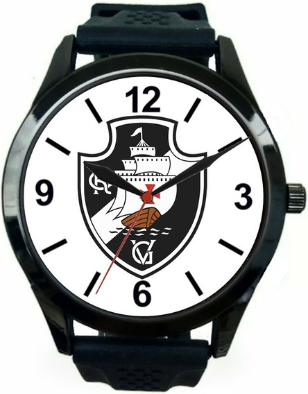 Relógio Pulso Vasco Da Gama Barato Masculino Esportivo Novo