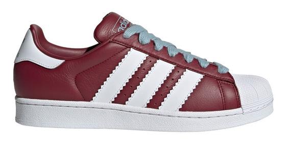 Zapatillas adidas Originals Superstar Bordo