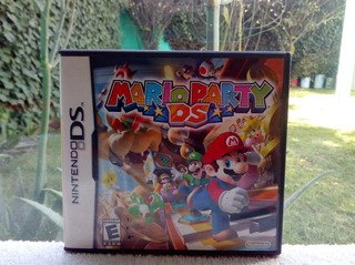 Mario Party Nintendo Ds Nds