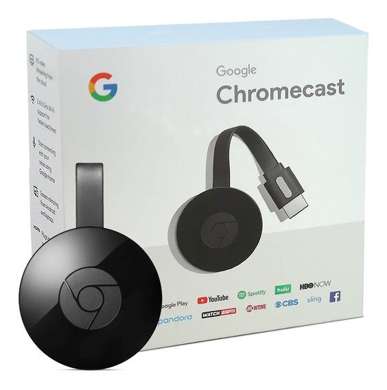 Google Chromecast 2 Hdmi 100% Novo Lacrado Original Na Caixa