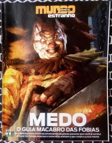 Revista - Mundo Estranho ( Medo - O Guia Macabro Das Fobias)
