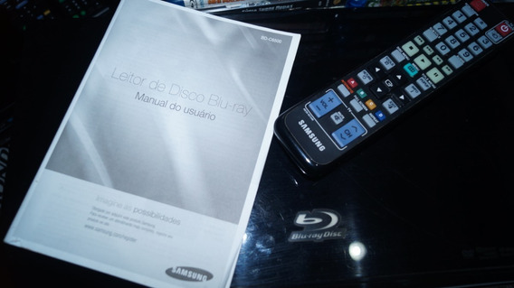 Blu-ray Player Samsung Top De Linha 3d Wifi Dolby Atmos Dtsx