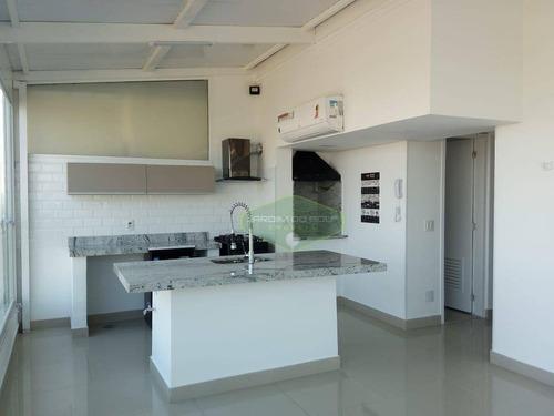Cobertura, 111 M² - Venda Por R$ 1.350.000,00 Ou Aluguel Por R$ 5.700,00 - Jardim Dom Bosco - São Paulo/sp - Co0116