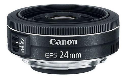 Imagem 1 de 4 de Lente Canon Ef-s 24mm F/2.8 Stm Wide Angle - Pronta Entrega.