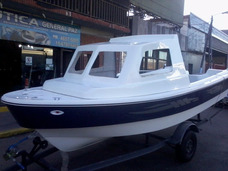 1/2 Cabina 520 V Marine Tracker Isleño Nautica Gral Paz