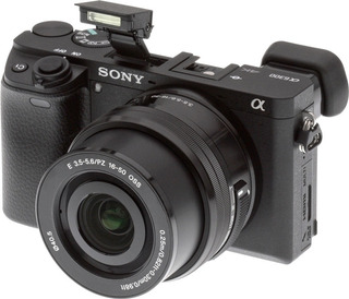 68.900- Sony Ilce Alpha A6300 Kit 16-50mm / 24.2mp 4k-stock