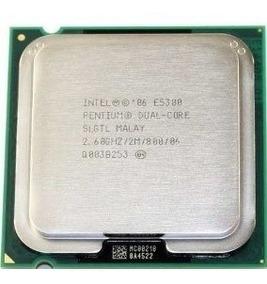 Lote De 5 Processadores Intel Pentium Dualcore E5300 2.6 Ghz