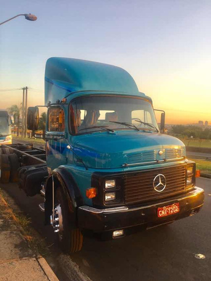 Mercedes Benz Mb 1318 1987 6x2 Truck Chassi Impecavel