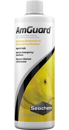 Neutralizador De Amoniaco Para Acuarios Amguard 500ml