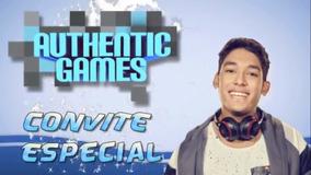Authentic Games - Convite Virtual Animado Para Aniversário