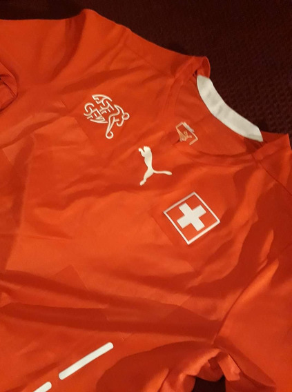 Camiseta Suiza 2014