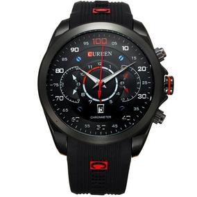 Relógio Masculino Curren 8166 Importado Quartz Original