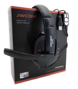 Fone Ouvido Headset Gamer Áudio Chat 7.1 Usb 3.0 Microfone
