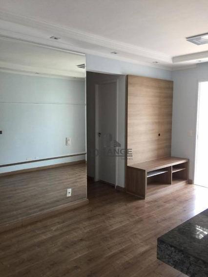 Apartamento Com 2 Dormitórios À Venda, 75 M² Por R$ 450.000,00 - Mansões Santo Antônio - Campinas/sp - Ap7282