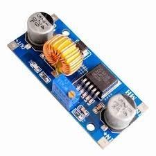 Regulador De Tensão Step Down Buck Xl4015 - 5a Dissipador