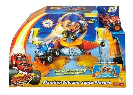 Blaze Salto A Volcan - Fisher Price