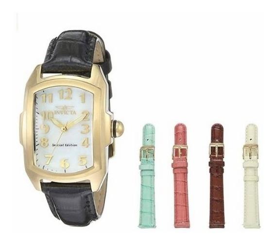 Relógio Invicta Feminino Lupah 18k.original Eua,modelo 13834