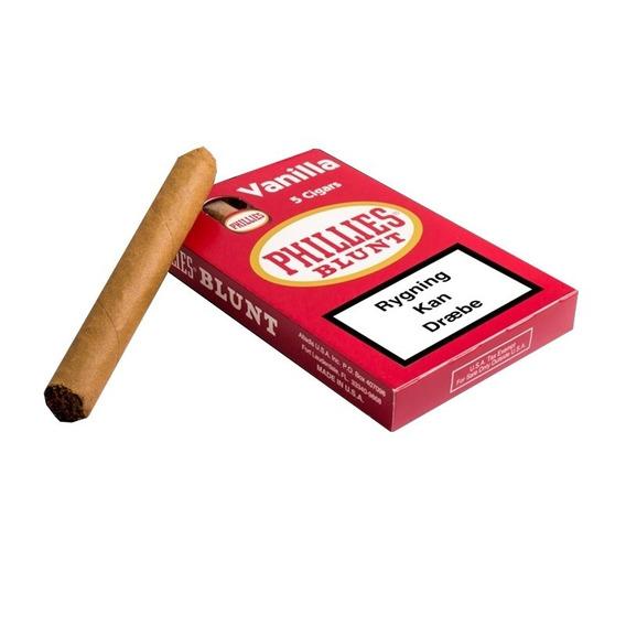 Cigarros Phillies Blunt Tabaco Vainilla Caja X5 Habanos