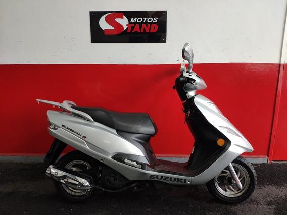Suzuki Burgman 125 I 125i 2012 Prata