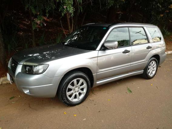 Subaru Forester 2.0 Lx Gasolina Completo 2008 Prata