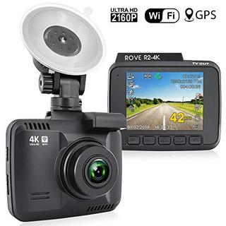 Rove R2-4k Dash Cam Incorporada En Wifi Gps Grabadora De La