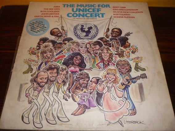 Lp Vinilo - The Music For Unicef Concert - Bee Gees-abba
