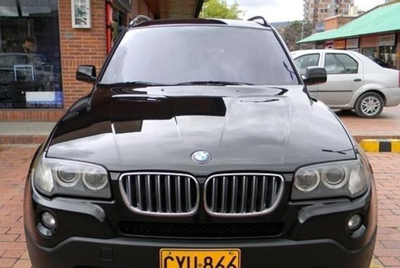 Bmw X3 3.0i 4x4 Xdrive Modelo2009 Automatica