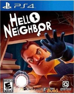 Hello Neighbor Ps4(nuevo Y Sellado De Fabrica)