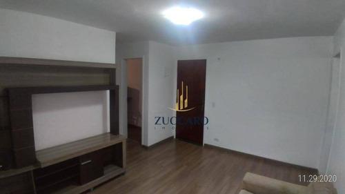 Apartamento Andar Alto Com 2 Dormitórios À Venda, 52 M² Por R$ 200.000 - Vila Galvão - Guarulhos/sp - Ap16596
