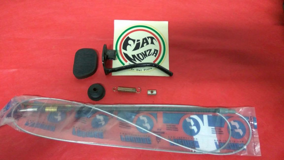 Fiat 600 Kit Orig Pedal Embrague+cable+pedalin+resorte+perno
