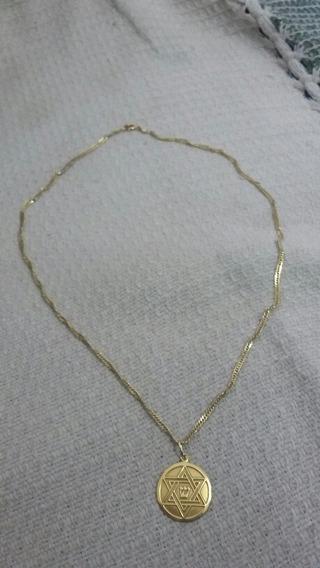 Cordão Ouro 18k 4.5 Gramas 50 Cm