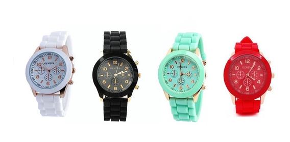 Relógio Analógico Unissex - Geneva - Importado