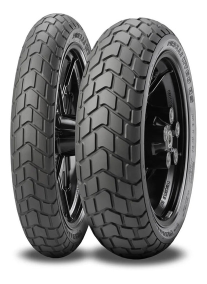 Pneu Pirelli Mt60 120/70-17 + 160/60-17 Versys 650 Cb 500 X