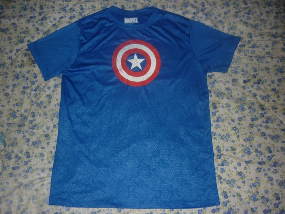 L Remera Marvel Capitan American Talle L Art 67415