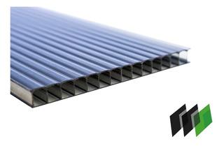 Placas De Policarbonato Fume 2,10x6,00 4milimetros