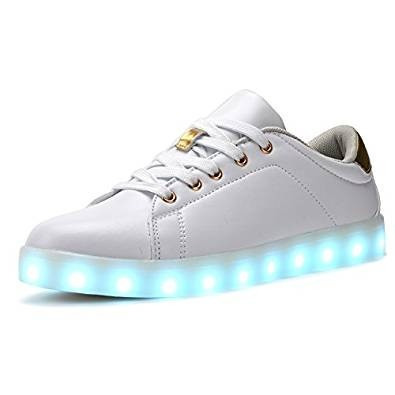 Tenis Led Coodo Cd2002 7-color-lights Usb Charging