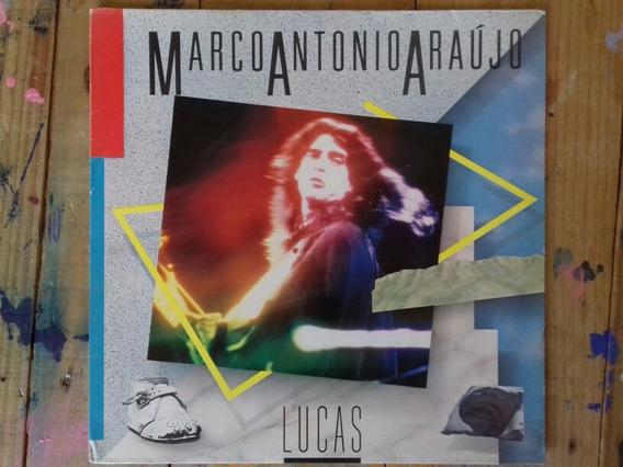 Lp Vinil Marco Antônio Araújo - Lucas