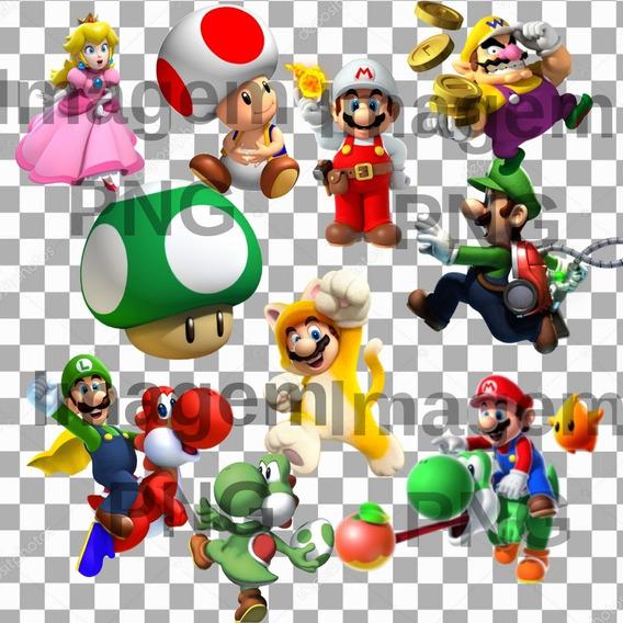 Super Combo Do Mario Bros Com 330 Imagens Png