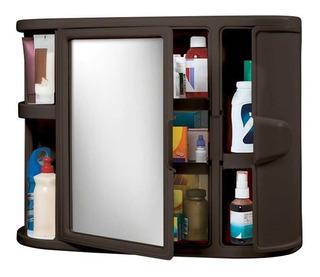 Gabinete Para Baño Plástico Con Espejo Rimax