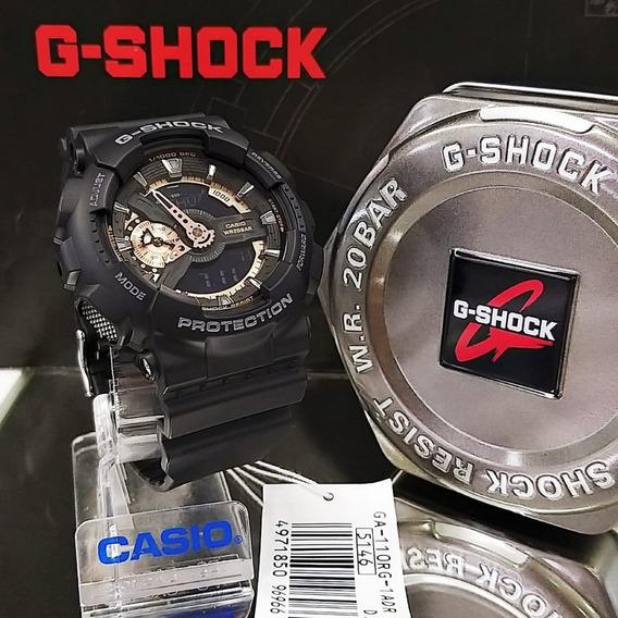 Relogio Casio Others Ga-110gb-1a Preto / Dourado - G Shock