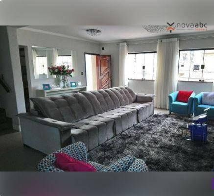 Sobrado Com 3 Dormitórios À Venda, 495 M² Por R$ 1.450.000 - Campestre - Santo André/sp - So0575