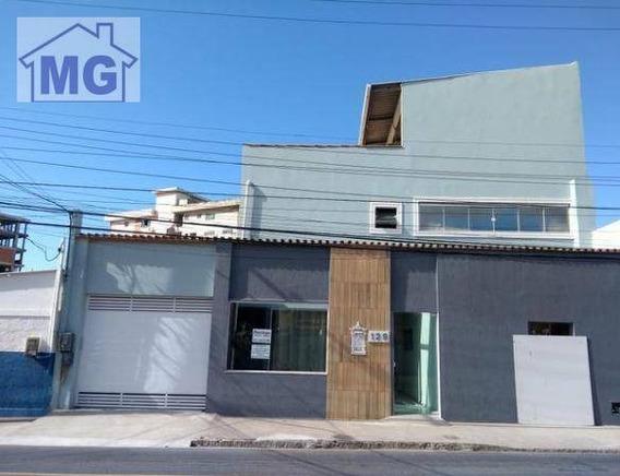 Casa, Clínica E Loja À Venda, 236 M² Por R$ 1.500.000 - Glória - Macaé/rj - Ca0216