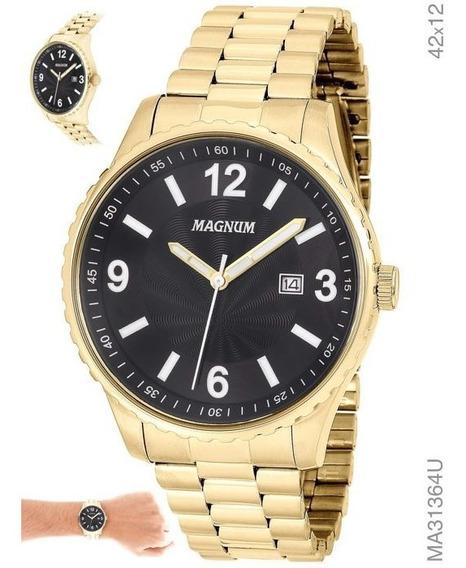 Relógio Analógico Sports Masculino Magnum Ma31364u