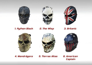 Mascara Careta Malla Mask Tactica Gotcha Paintball Airsoft