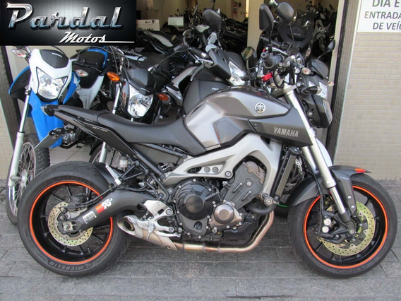 Yamaha Mt-09 2015 Cinza