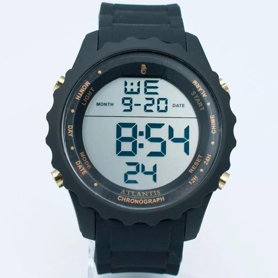 Relógio Atlantis Estilo 18k A Prova D