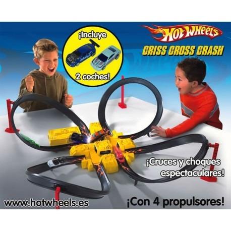 Pista Hot Wheels Criss Cross Crash