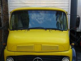 Mercedes-benz 1113 Com Baú De 10 Metros Cabine Alta