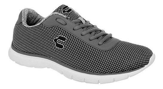 Charly Sneaker Deportivo Sint Gris Niño Textura C28197 Udt